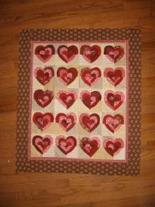 Ruffled Hearts Quilt