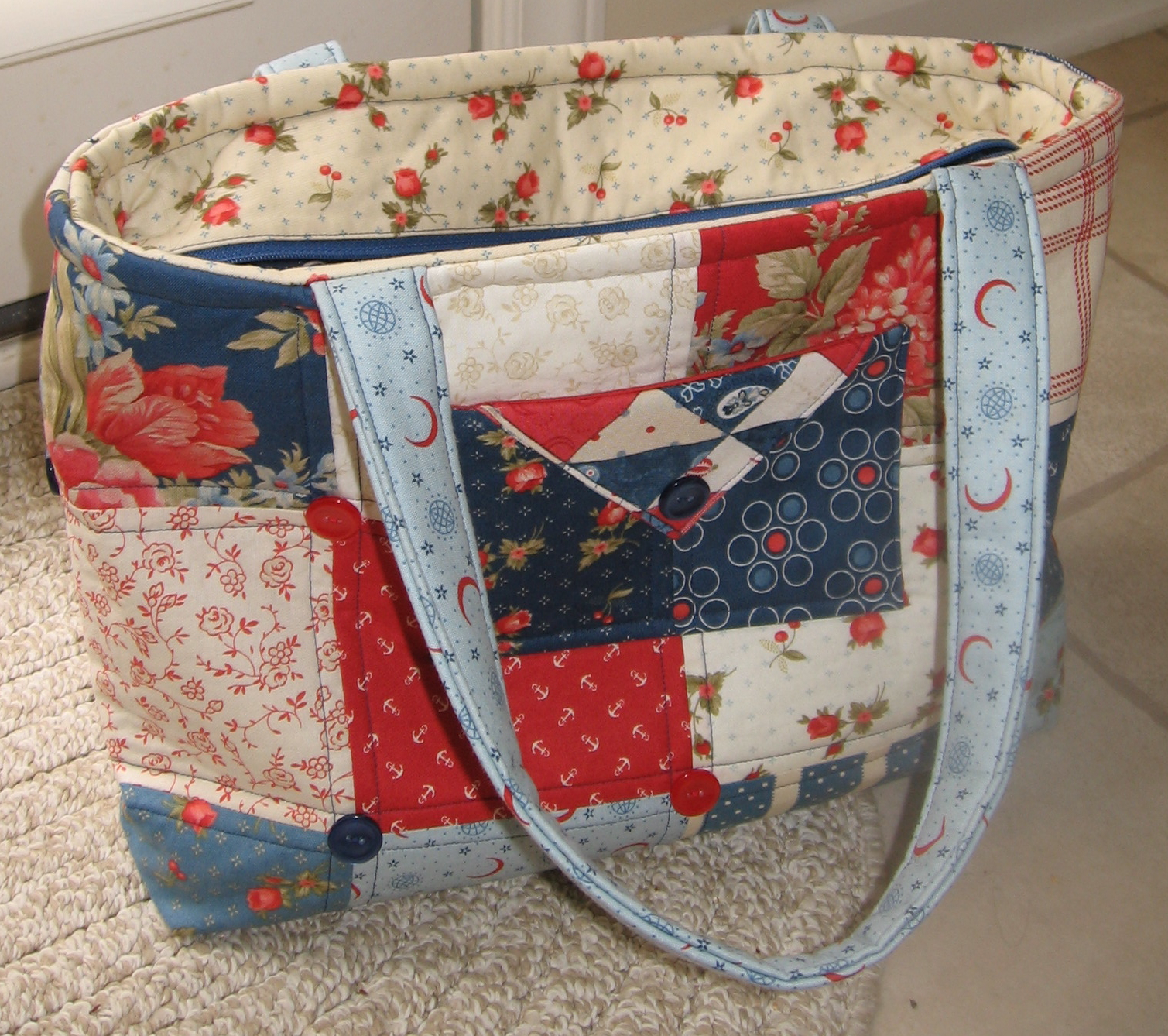 how to make a tote bag with a zipper EvLQ5J9S