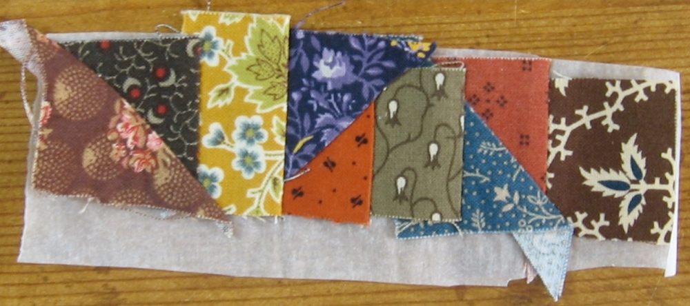 Tutorial - Foundation Piecing - Little House on the Prairie (6/6)