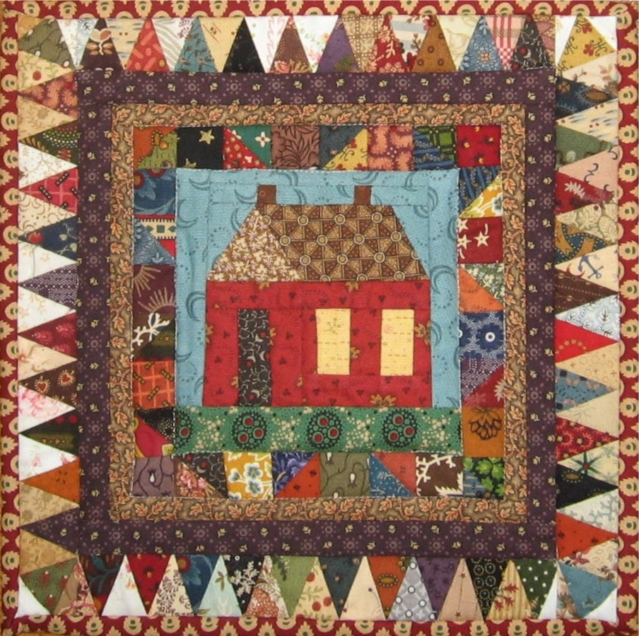 Tutorial - Foundation Piecing - Little House on the Prairie (1/6)