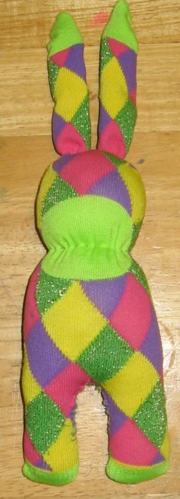 Tutorial - Sock Rabbit (aka Sock Bunny) (5/6)