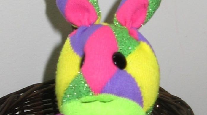Tutorial - Sock Rabbit (aka Sock Bunny) (6/6)
