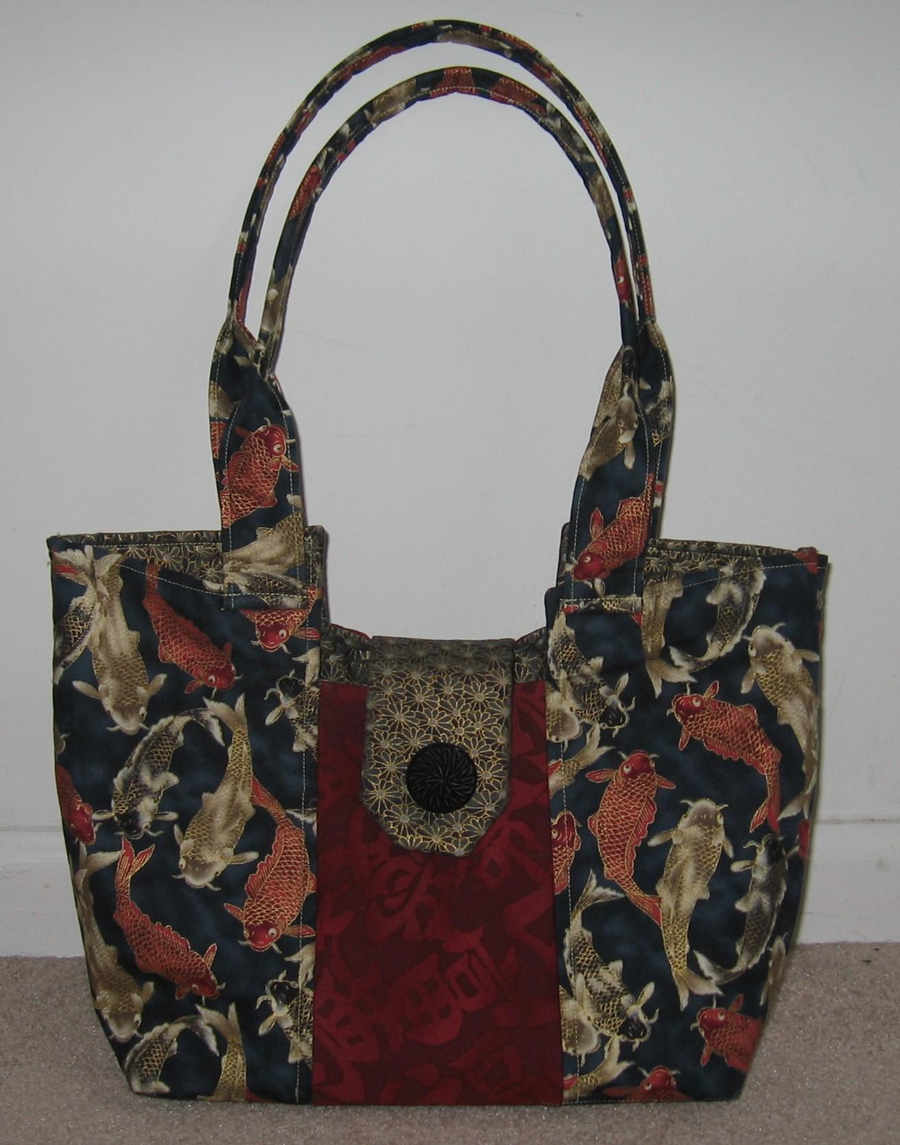 Gracie handbag keep it thimble for Koi fish purse