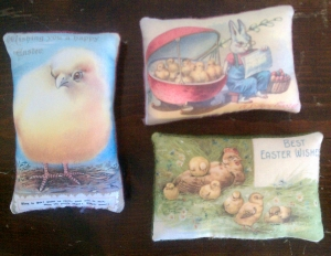Easter Pillows - Photo Transfers