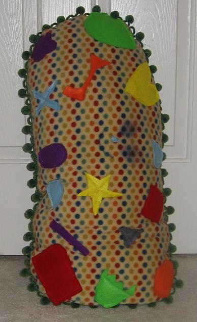 Tutorial - Sew a Stuffed Paramecium Toy (2/4)
