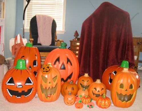 Pumpkin Invasion (with Ghost)