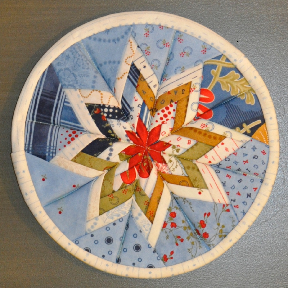 Radiant Folded Patchwork Star Pattern (3/3)