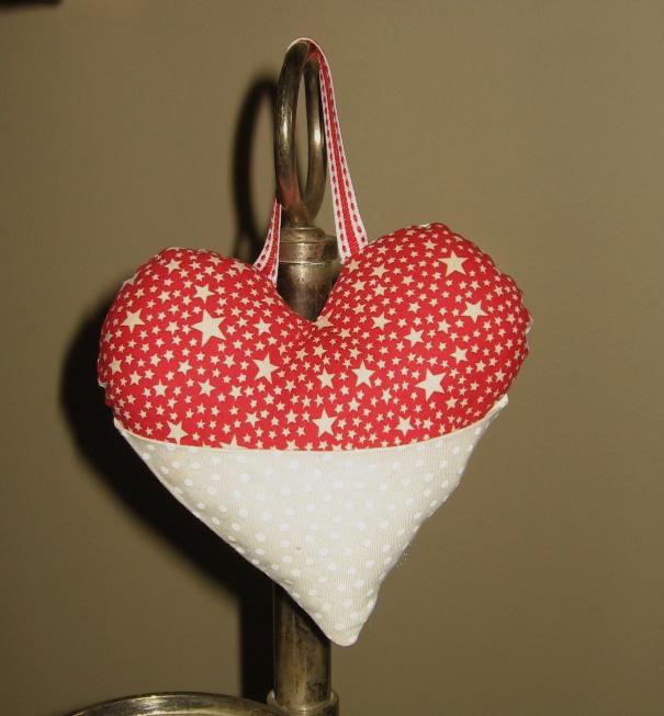 Tutorial - Pretty Patchwork Heart Pocket (4/6)