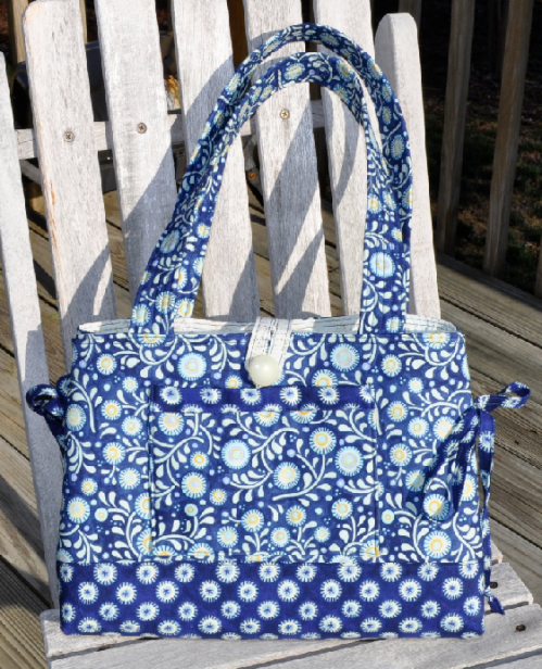 Mini Bow Tucks Tote