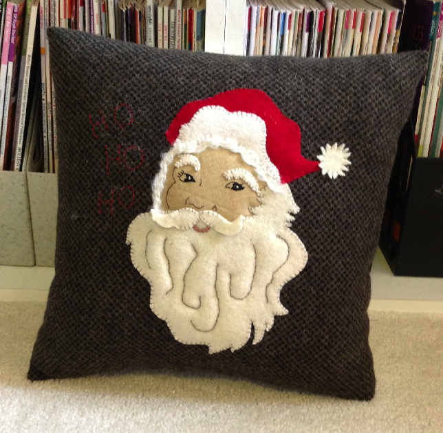 Ho ho ho! Santa Claus Pillow