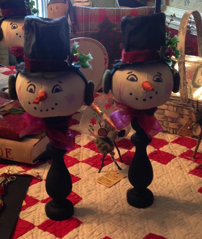 Frosty the Snowman Makedo